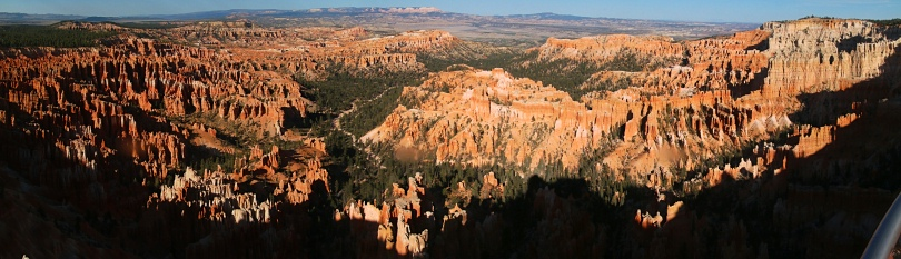 Panorama des Brycs Canyon